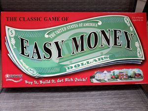 "VINTAGE 1956 ""EASY MONEY"" ANTIQUE BOARD GAME-COLLECTIBLE TOY for Sale in Island Park, NY"
