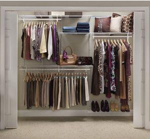 ClosetMiad Closet Organizer Kit White for Sale in Corona, CA