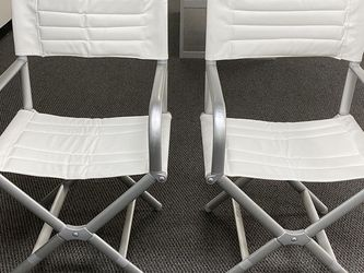 Table Height Director Chairs (price is for one chair) for Sale in Cerritos,  CA