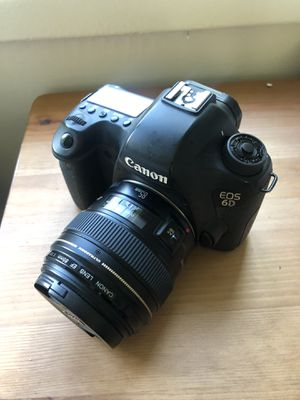 Canon EOS 6D Full Frame 85mm 1.8 for Sale in Los Angeles, CA