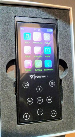 New Tenswall Mp3 Player for Sale in Katy, TX