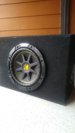 """8"""" kicker subwoofer for Sale in Vancouver, WA"""