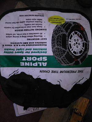 Alpine sport premium tire chains for Sale in Germantown, MD