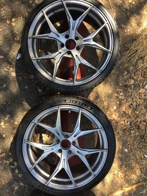 "20"" Rohana rims for Sale in San Bernardino, CA"