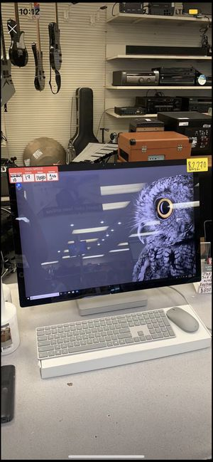 Microsoft desktop surface studio windows 10 pro for Sale in Tampa, FL