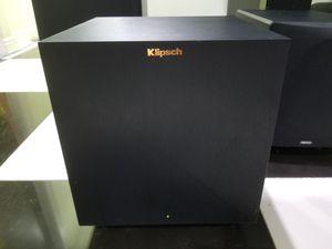 Klipsch R 8SW NA Subwoofer 150 watts this subwoofer very nice sound for Sale in Anaheim, CA