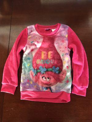 Trolls Poppy Comfy Fuzzy Pullover Sweatshirt Size S 6/6X for Sale in East Brunswick, NJ