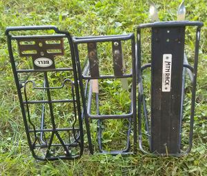 Bike bicycle rack luggage cargo carriers rear $10 each for Sale in Fitchburg, WI