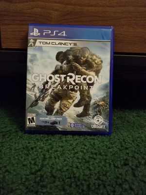 Ghost recon breakpoint ps4 for Sale in Santa Ana, CA