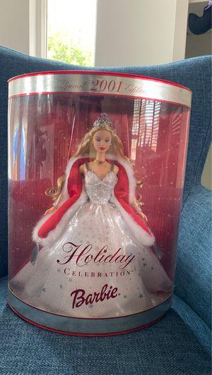 2001 Holiday Celebration Barbie for Sale in La Habra, CA