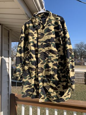 Bape Trench Jacket for Sale in Tinley Park, IL