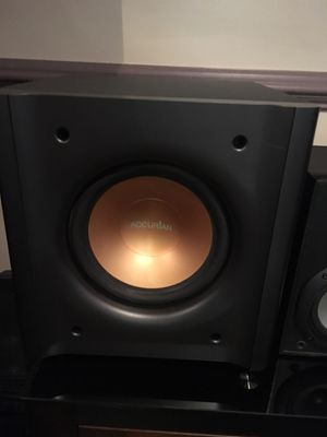 Home Accurian Subwoofer with Sony Speakers for Sale in Centreville, VA