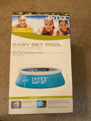 New Intex 6ft x 20in inflatable pool for Sale in Madison, WI