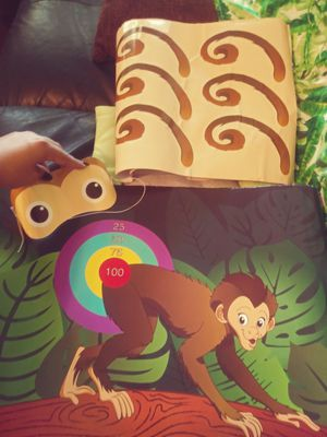 """""""Pin the tail on the monkey"""" childrens party game for Sale in Whittier, CA"""