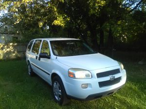 I'm selling my 2007 Chevy Uplander for parts, body in good condition, start up every minute, need transmission so I'm am asking for $1000 for Sale in Hamtramck, MI