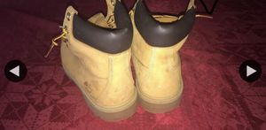 Timberlands boots barely worn size 7 for Sale in Sudley Springs, VA