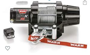 """WARN 101025 VRX 25 Powersports Winch with Handlebar Mounted Switch and Steel Cable Wire Rope: 3/16"""" Diameter x 50' Length, 1.25 Ton (2,500 lb) Capaci for Sale in Upland, CA"""