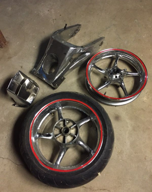 Yamaha R6 Chrome parts for Sale in Huntington Station, NY