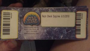 Wild River Country $17 for Sale in Little Rock, AR