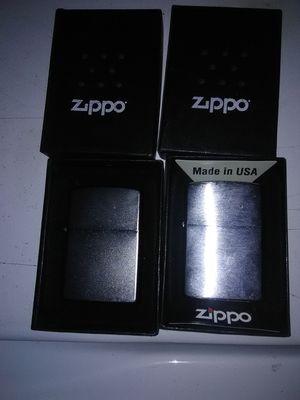 Zippo lighters (Brand new) for Sale in Leacock-Leola-Bareville, PA