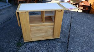 Nice utility table...kitchen island for Sale in Puyallup, WA