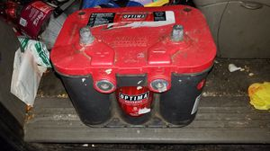 Red top top and side post battery for Sale in Portland, OR