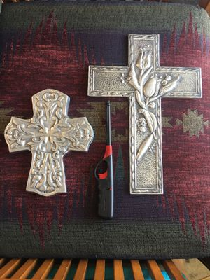 Heavy metal crosses $12 each for Sale in San Antonio, TX