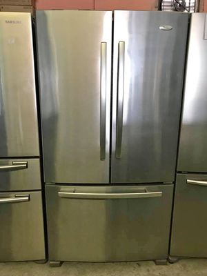 FREE DELIVERY! Whirlpool Refrigerator Fridge Free Delivery French Door 3-Door #906 for Sale in Riverside, CA