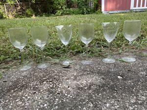 6 glasses for Sale in Tampa, FL