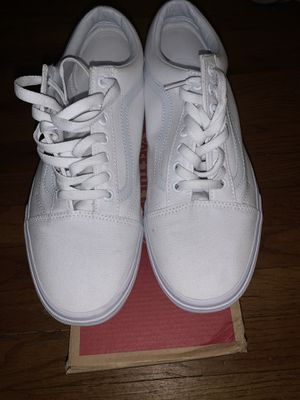 Vans All White for Sale in Springfield, MI