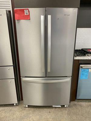New Whirlpool Refrigerator On Sale 1yr Factory Warranty for Sale in Chandler, AZ