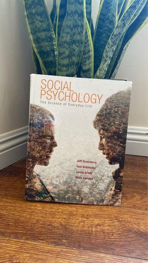 Social Psychology Textbook for Sale in Los Angeles, CA