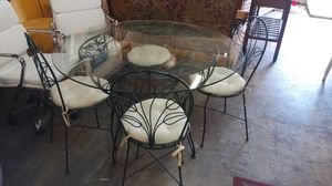 Wrought Iron Table w/ Chairs for Sale in Wilton Manors, FL