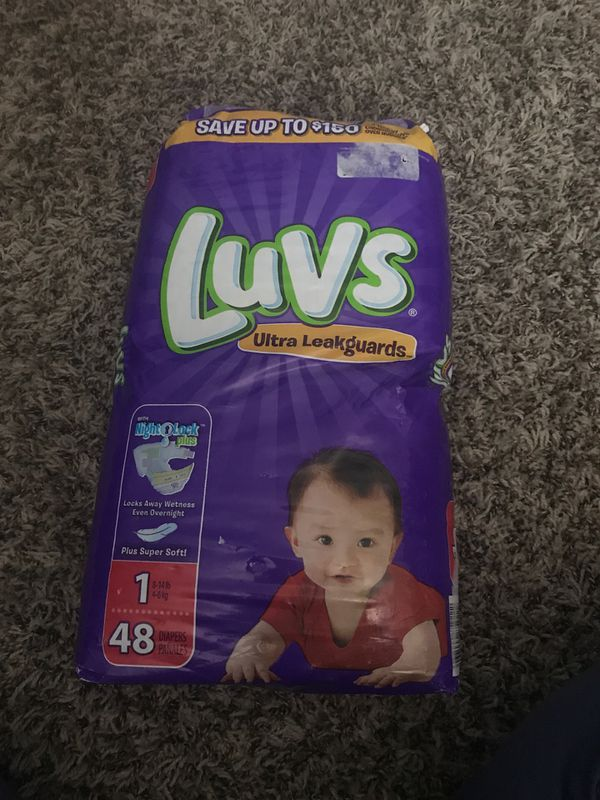 Pampers and Luvs diapers
