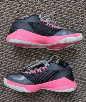 Nike Jordan CP3 Girl's Black/Pink Basketball Shoes Size 4Y for Sale in TN OF TONA, NY