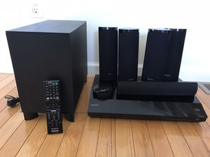 Sony Blu-Ray Home Theater System with iPod dock & Built-in Wi-Fi for Sale in Windsor, CT
