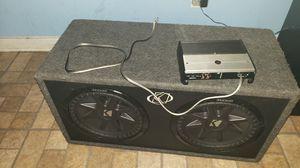 Amplifier jl XD600/1 I kiker 12 for Sale in Falls Church, VA
