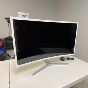 "32"" Samsung Curved Monitor C32F397FWN Great Condition for Sale in Lake Elsinore, CA"