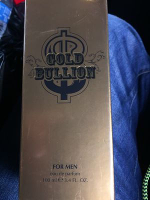 Mens Gold Bullion Cologne for Sale in San Diego, CA