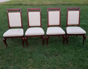 4 Well Made Dining Chairs for Sale in Manchester, PA