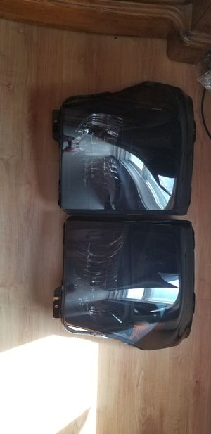 11-16 ford superduty smoked headlights for Sale in Pottsville, PA