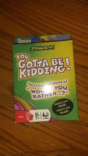 Kids card game for Sale in Las Vegas, NV