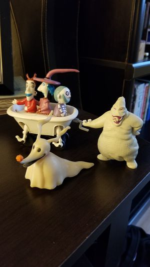 Vintage 90s Nightmare Before Christmas Figures/Toys for Sale in Redwood City, CA