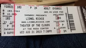 Lionel Ritchie concert ticket for Sale in Portland, OR