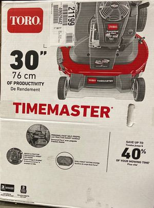 toro time master Lawn Mower for Sale in Washington, DC