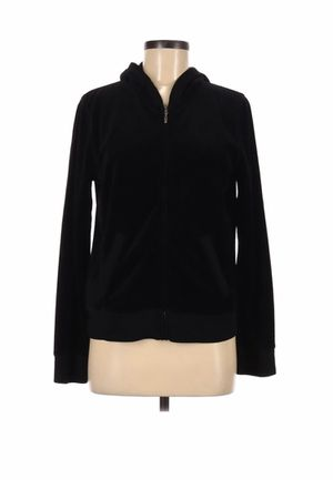 Jones New York Sport Women Black Track Jacket M Like new- gently used for Sale in French Creek, WV