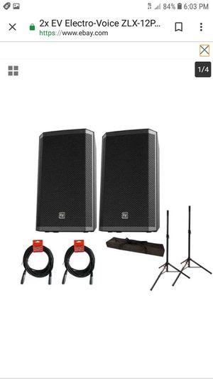 Ev zlx passive speakers for Sale in San Antonio, TX