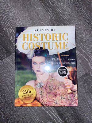 Book history of costume for Sale in Los Angeles, CA