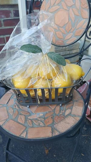 Basket of lemons for Sale in Frederick, MD