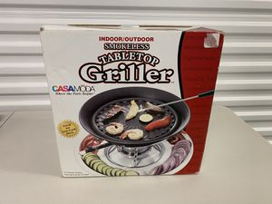 Indoor/Outdoor Smokeless Tabletop Griller - New in Box for Sale in North Wales, PA